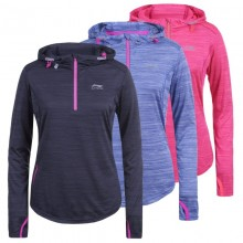 WOMEN'S LI-NING FLASH RUNNING HOODIE