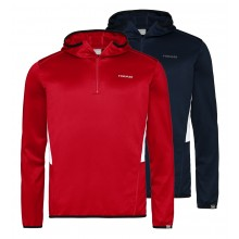 HEAD CLUB TECH 1/2 ZIPPED HOODIE