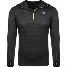 LI-NING FALK LONG-SLEEVE T-SHIRT WITH A HOODIE