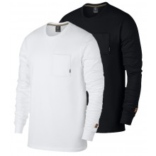 NIKE COURT HERITAGE LONG SLEEVES T-SHIRT