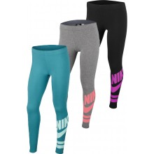 JUNIOR GIRLS' NIKE LOGO TIGHTS