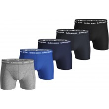PACK OF 5 BJÖRN BORG SOLID BOXER SHORTS
