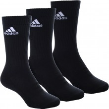 ADIDAS 3S PERFORMANCE CREW 3-PACK SOCKS