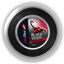 REEL POLYFIBRE BLACK VENOM ROUGH (200 METRES)