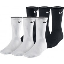 3 PAIRS OF NIKE LIGHTWEIGHT CREW TRAINING SOCKS