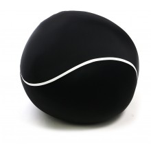 "BLACK "" TENNIS BALL "" LARGE SIZE 80CM BEAN BAG CHAIR"