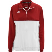 WOMEN'S ADIDAS ZIPPED TEAM JACKET