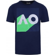 JUNIOR BOYS AUSTRALIAN OPEN NAVY POP T-SHIRT