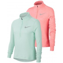 JUNIOR GIRLS' NIKE 1/2 ZIP LONG-SLEEVE T-SHIRT