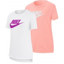 JUNIOR GIRLS' NIKE BASIC FUTURA T-SHIRT