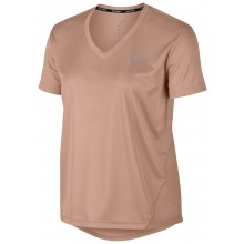 WOMEN'S NIKE MILER V COLLAR SHORT-SLEEVE T-SHIRT