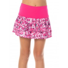 JUNIOR LUCKY IN LOVE CHROMA PLEAT TIER SKIRT