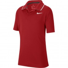 JUNIOR NIKE COURT DRY POLO