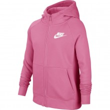 JUNIOR GIRLS' NIKE ZIPPED HOODIE