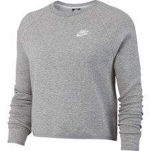 WOMEN'S NIKE TECH FLEECE CROPPED TOP SWEATER