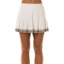LUCKY IN LOVE LONG MANHATTAN PLEATED SKIRT