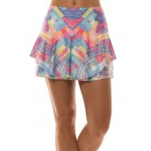 LUCKY IN LOVE LONG PLAID ABOUT YOU SKIRT
