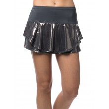 LUCKY IN LOVE GROOVY STRIPE METALLIC FLIP SKIRT