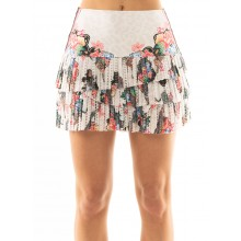 LUCKY IN LOVE HI ANIMAL FEVER PLEATED SCALLOP SKIRT