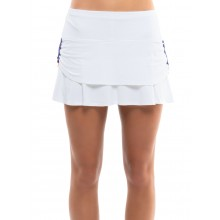 LUCKY IN LOVE RUCHED TIER SKIRT