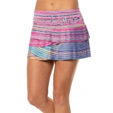 LUCKY IN LOVE LOVE LINE PLEATED SCALLOP SKIRT