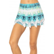 LUCKY IN LOVE TRIPPY SCARF SKIRT