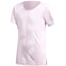 JUNIOR GIRLS ADIDAS ID GRAPHIC T-SHIRT