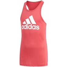 JUNIOR GIRLS ADIDAS ESSENTIALS TANK