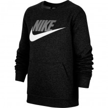 JUNIOR NIKE SPORTSWEAR CLUB FLEECE SWEAT TOP