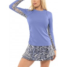 T-SHIRT LUCKY IN LOVE FEMME LEVEL UP MANCHES LONGUES