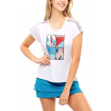 WOMEN'S LUCKY IN LOVE STAMP IT T-SHIRT