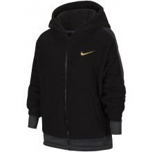 JUNIOR GIRLS' NIKE THERMA ZIPPED HOODIE