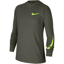 JUNIOR NIKE CREW NECK LONG SLEEVE T-SHIRT