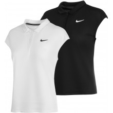 WOMEN'S NIKE COURT VICTORY DRI-FIT POLYESTER SLEEVELESS POLO