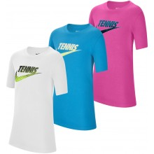 JUNIOR NIKE TENNIS GRAPHIC T-SHIRT