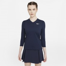 WOMEN'S NIKE COURT DRI-FIT VICTORY 3/4 SLEEVES T-SHIRT