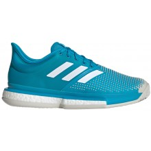 ADIDAS SOLECOURT BOOST TSONGA/POUILLE PARIS CLAY COURT SHOES
