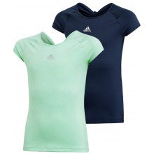 JUNIOR GIRLS' ADIDAS RIBBON T-SHIRT