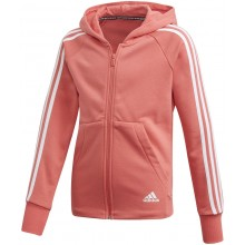 JUNIOR GIRLS' ADIDAS TRAINING 3S SWEATER