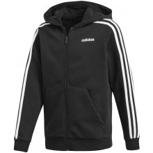 JUNIOR BOYS' ADIDAS 3 STRIPES ZIPPED HOODIE