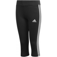 JUNIOR GIRLS' ADIDAS 3 STRIPES 3/4 PANTS