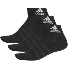 3 PAIRS OF ADIDAS CUSHION ANKLE SOCKS