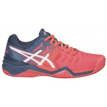 WOMEN'S ASICS RESOLUTION 7 CLAY COURT SHOES