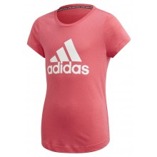 JUNIOR GIRLS' ADIDAS TRAINING MUST HAVE BOS T-SHIRT