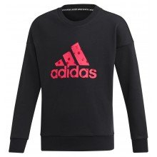 JUNIOR GIRLS' ADIDAS TRAINING MUST HAVE BOS SWEAT TOP