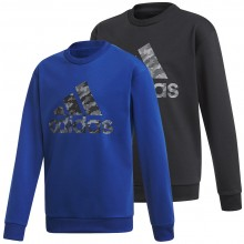 JUNIOR ADIDAS TRAINING ID SWEAT TOP