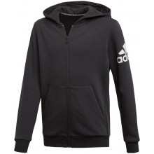 JUNIOR ADIDAS ZIPPED TRAINING BOS LOGO FLEECE HOODIE