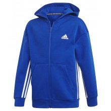 JUNIOR ADIDAS TRAINING MUST HAVE 3S ZIPPED HOODIE