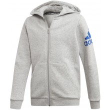 JUNIOR ADIDAS ZIPPED TRAINING MUST HAVE BOS HOODIE