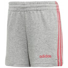 JUNIOR GIRLS' ADIDAS TRAINING ESSENTIALS 3S SHORTS